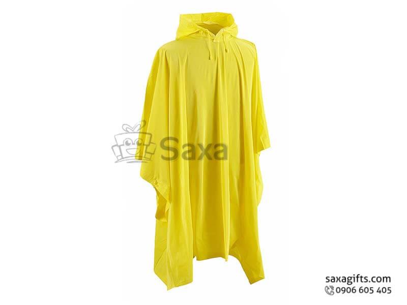 Áo mưa cánh dơi in logo vải dù form rộng chất lượng cao cấp
