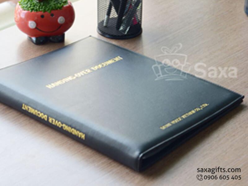 Sổ da phân trang dùng được hồ sơ văn phòng – SD001