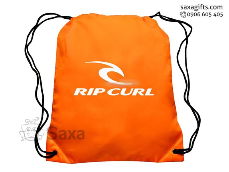 Túi vải dù in logo dây rút đeo vai giá rẻ