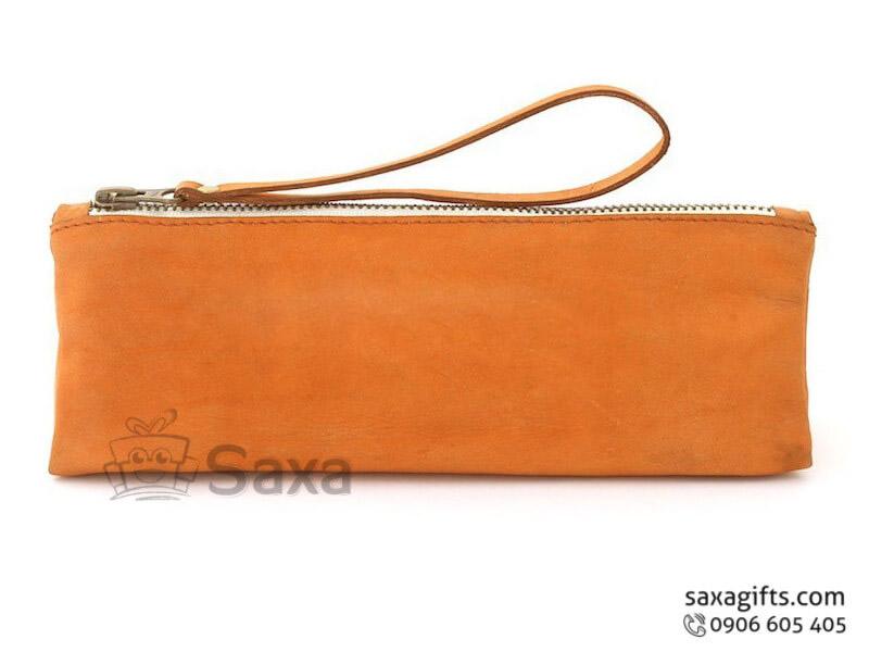 Túi vải dù in logo cầm tay khóa kéo có quai tiện dụng