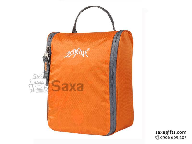 Túi vải dù in logo đựng đồ cá nhân nhiều ngăn có quai