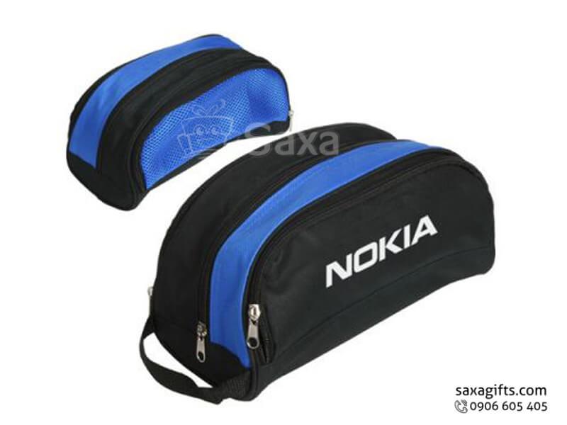 Túi vải dù in logo đựng đồ thể thao của Nokia