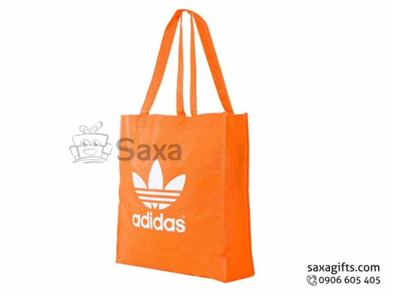 Túi môi trường in logo dạng túi hộp may hông tinh tế