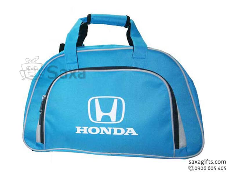 Túi du lịch in logo vải dù form chữ A của Honda