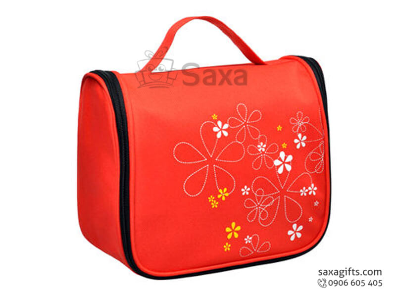 Túi đựng đồ cá nhân in logo họa tiết bông hoa