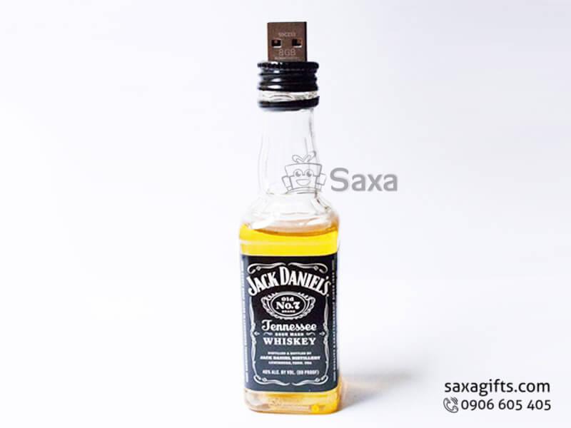 Usb độc đáo hình chai rượu Jack Daniel's độc đáo