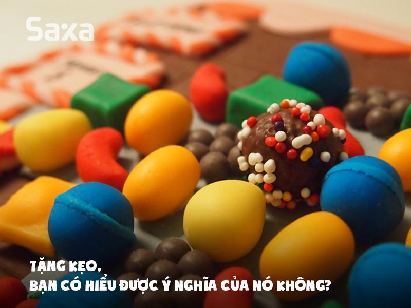 Tặng kẹo, bạn có hiểu được ý nghĩa của nó không