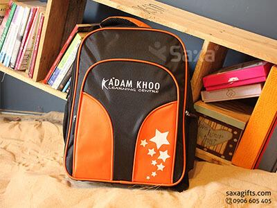 Balo quà tặng cho học sinh – In logo Adam Khoo