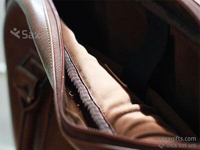 Túi laptop – Túi xách laptop quà tặng bằng giả da sýt