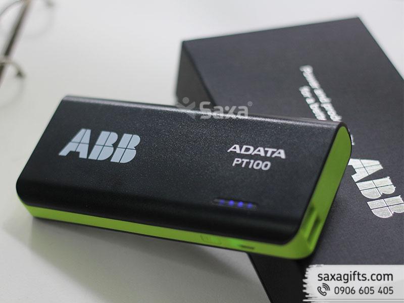 Pin dự phòng quà tặng in logo ABB dung lượng 10.000 mAH - Chính hãng