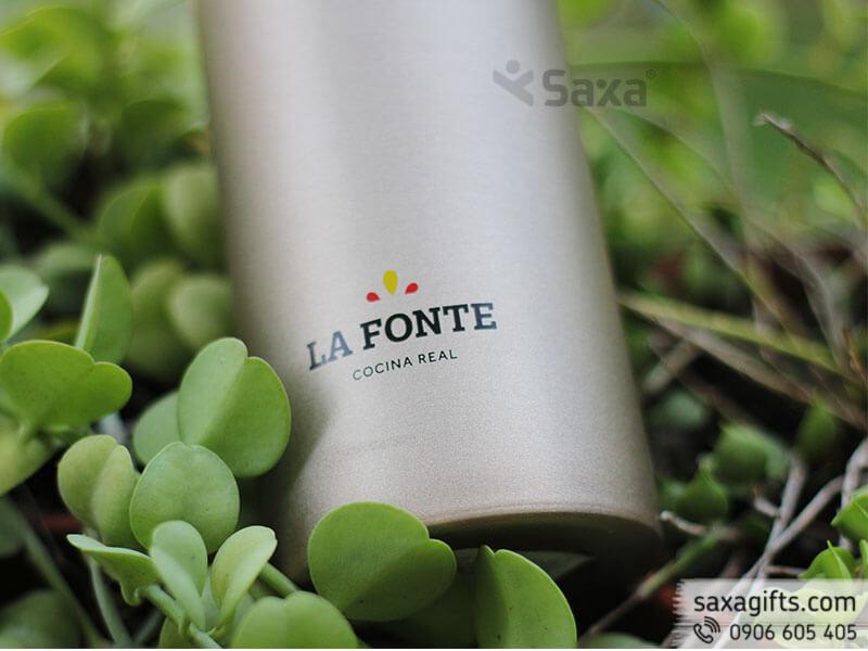 Bình giữ nhiệt Lafonte nắp bật phối màu sang trọng