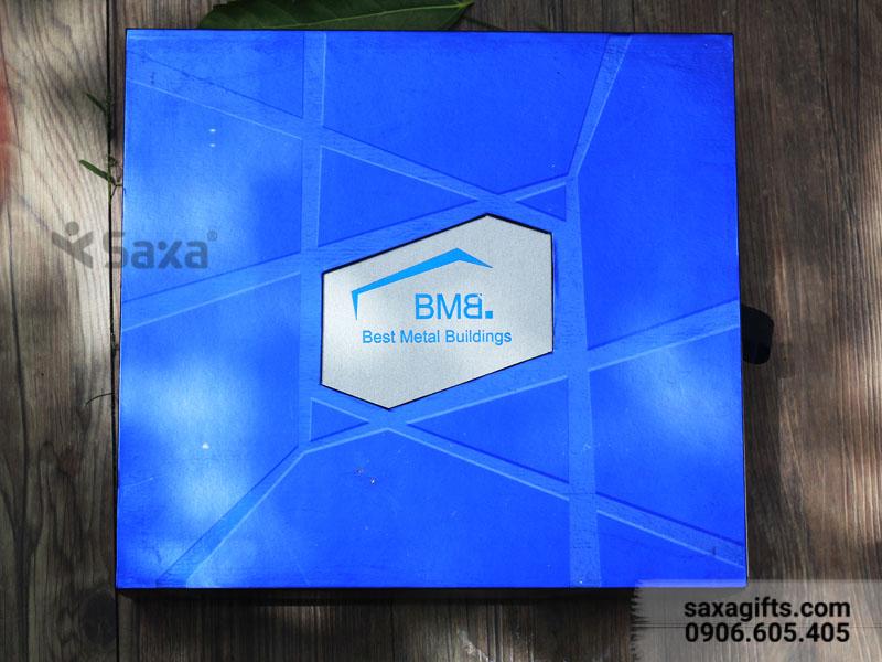 Bộ quà tặng gia dụng BMB: Bình Giữ Nhiệt Carlmann + 2 Ly Sứ Dong Hwa