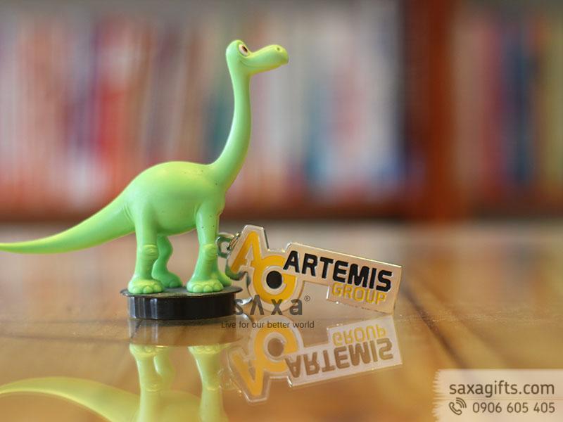 Móc khóa kim loại sản xuất theo thiết kế của Artemis Group