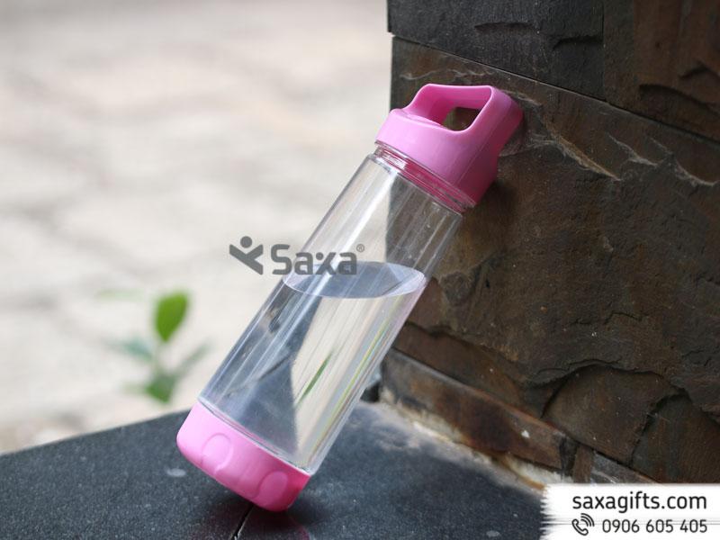 Bình nước nhựa nắp phối màu – Mẫu 1 – Hàng Việt Nam