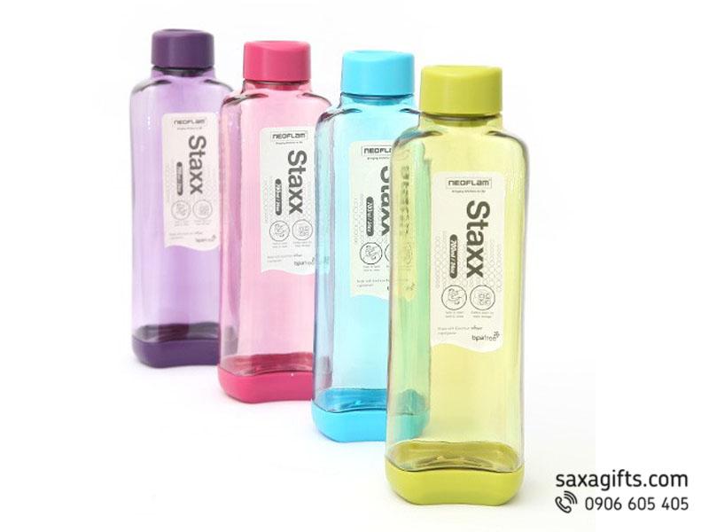 Bình nước nhựa Staxx Hàn Quốc 500ml - 700ml