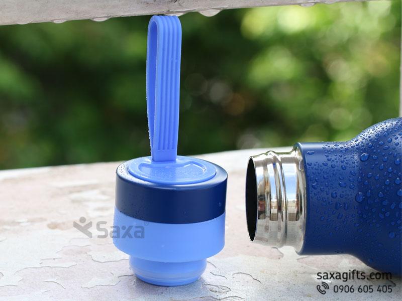 Bình Giữ Nhiệt La Fonte 500ml quai xách silicon