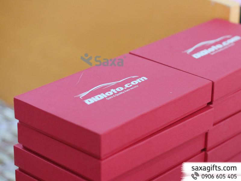 Bộ quà tặng Didioto: bút kim loại, hộp namecard, usb - Mẫu 2