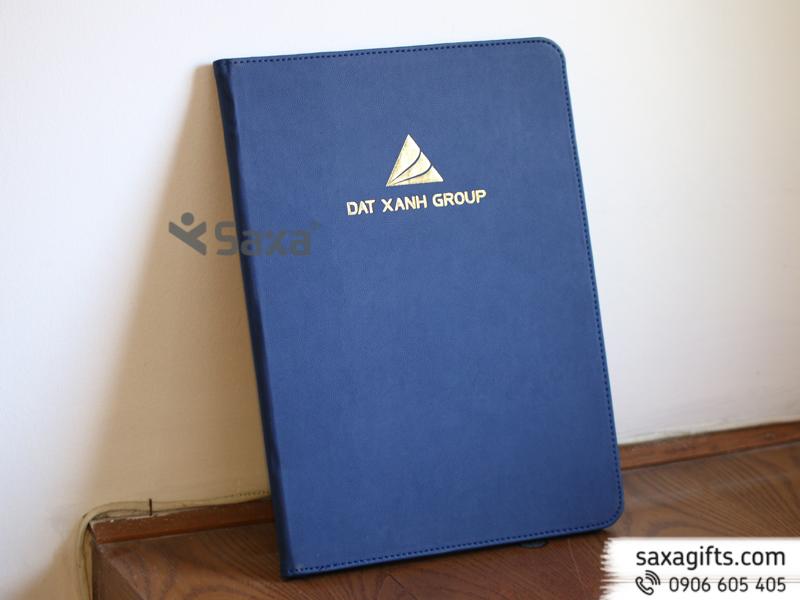Bìa hồ sơ A4 dập logo Đất Xanh Group