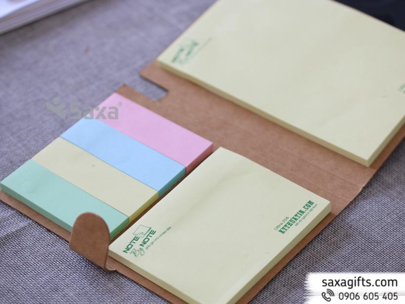 Sổ stick note tích hợp nhiều kích cỡ