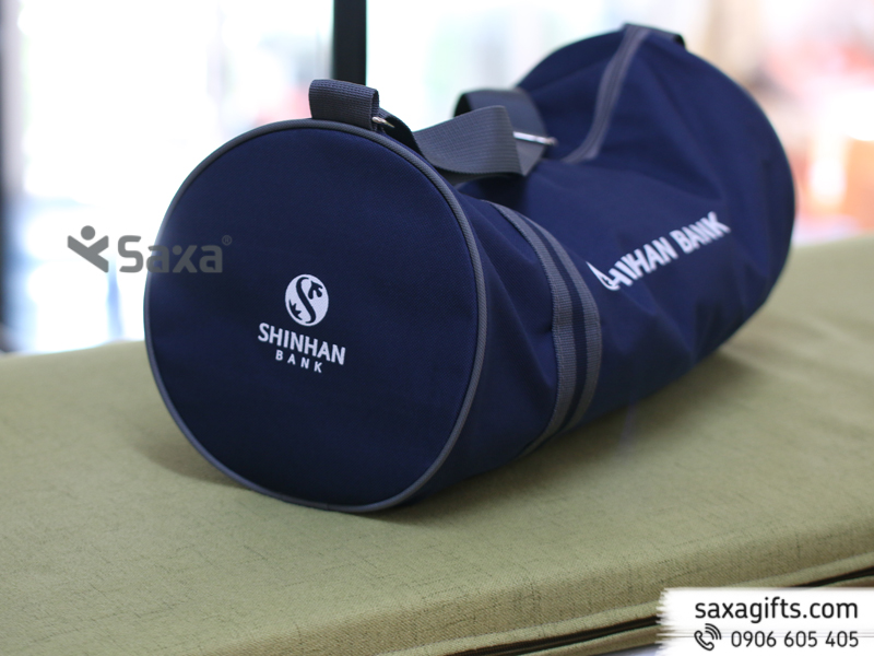 Túi du lịch quà tặngin logo Shinhan Bank