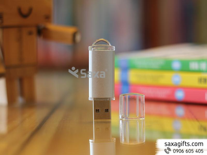 USB nhựa nắp trong suốt
