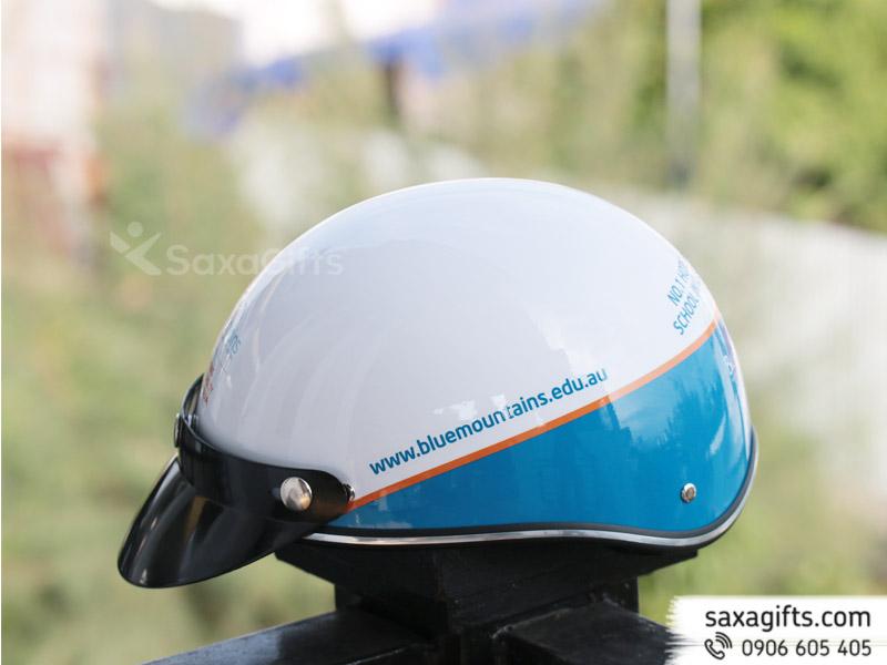 Mũ bảo hiểm quảng cáoin logo tem lớn