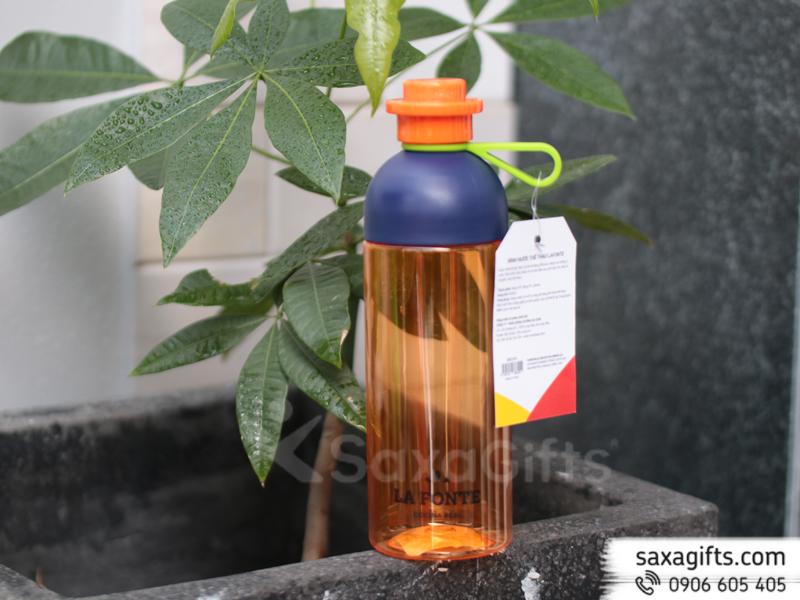 Bình nước nhựa Lafonte 600ml