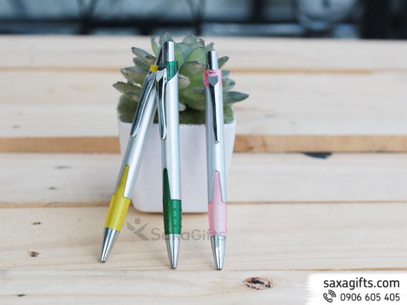 Bút Bi Nhựa Quảng Cáo Mẫu 25