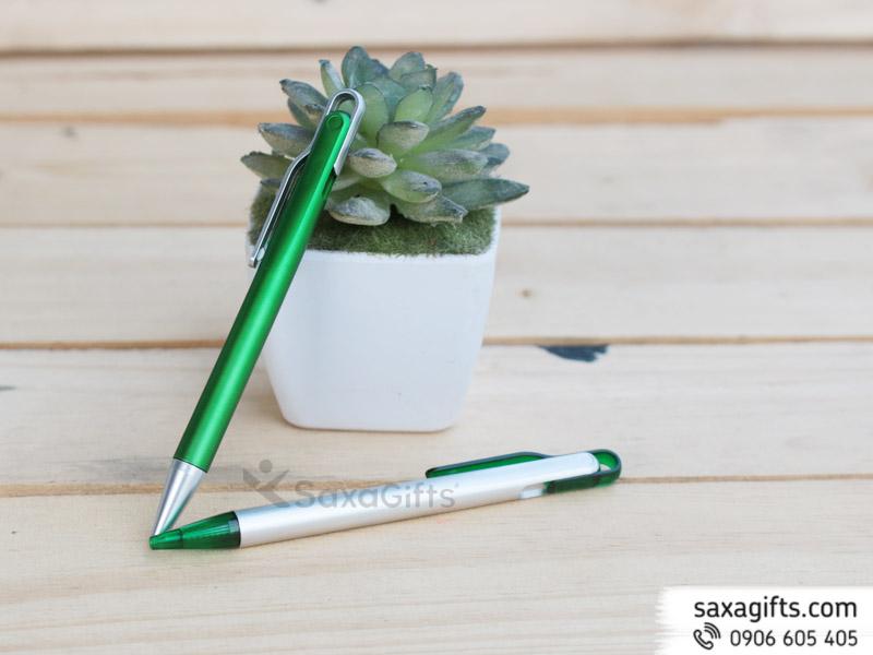 Bút Bi Nhựa Quảng Cáo Mẫu 27