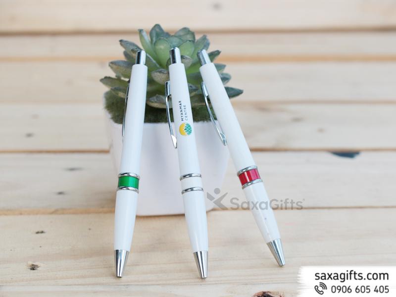 Bút Bi Nhựa Quảng Cáo Mẫu 36