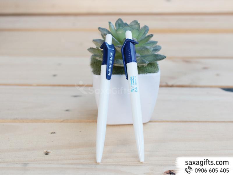 Bút Bi Nhựa Quảng Cáo Mẫu 38