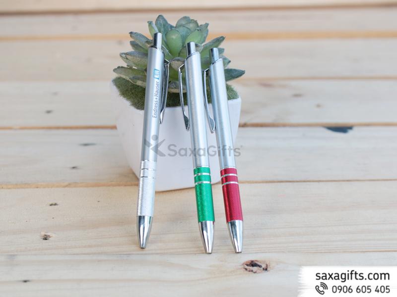 Bút Bi Nhựa Quảng Cáo Mẫu 44