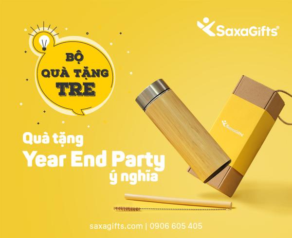 BỘ QUÀ TẶNG TRE – QUÀ TẶNG YEAR END PARTY Ý NGHĨA