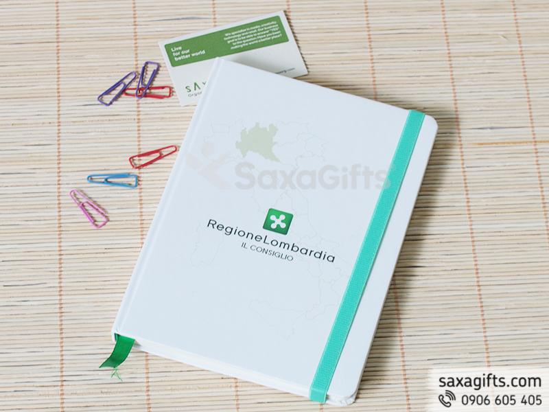 Sổ tay gáy dán bìa giấy in offset theo thiết kế riêng