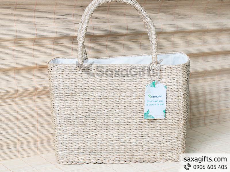 Túi vải cói thân thiện môi trường - Quà tặng xanh