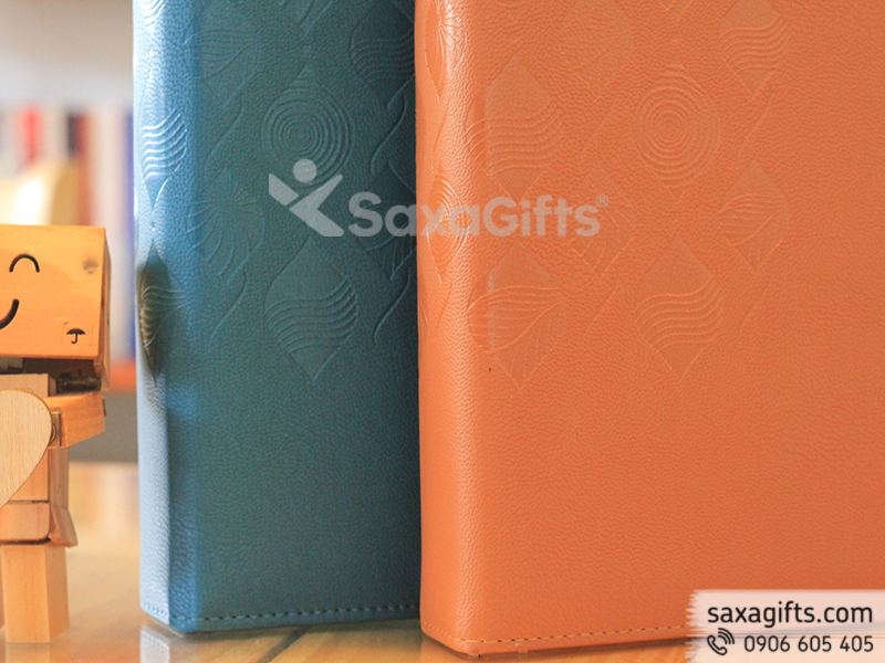 Bìa hồ sơ A4 chất liệu PU cao cấp dập logo Estella Heights