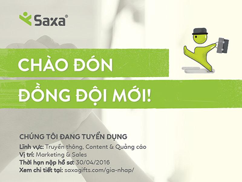 Điều gì giúp bạn Marketer lọt vào mắt của Saxa?