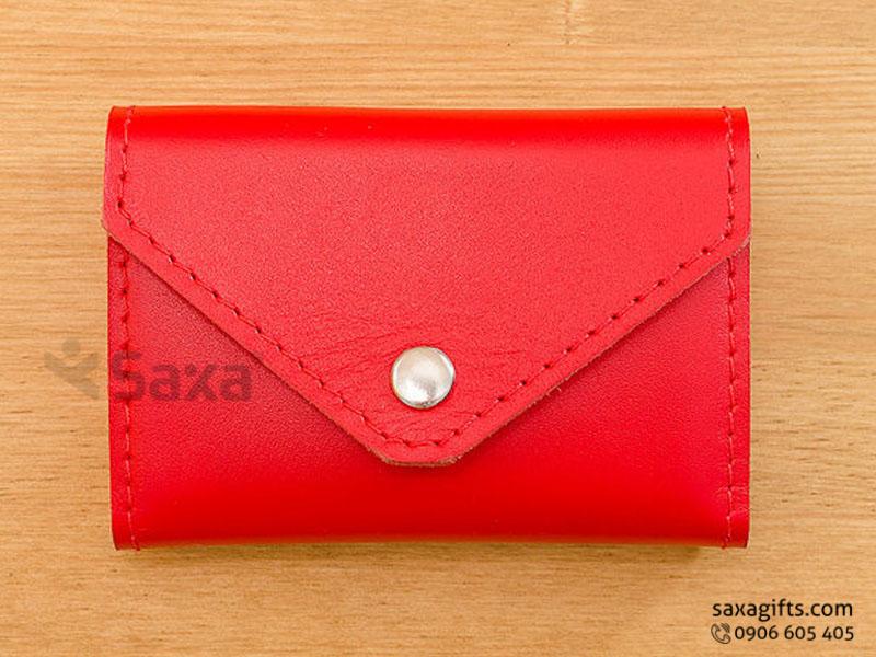 5 mẫu ví da in logo để đựng tiền, nhỏ gọn trong tầm tay cho phụ nữ