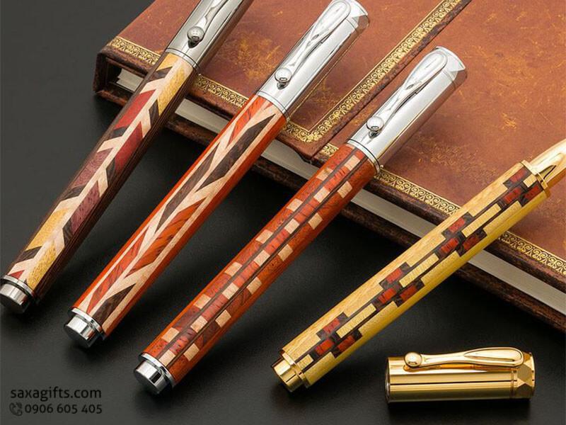 Bút gỗ - Sự lựa chọn tốt nhất để làm quà tặng