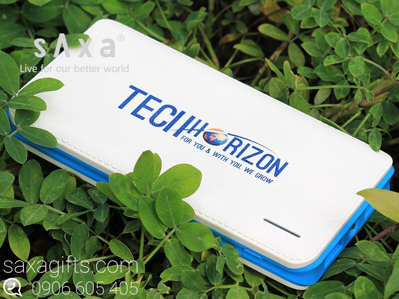 Pin sạc dự phòng in logo Techorizon