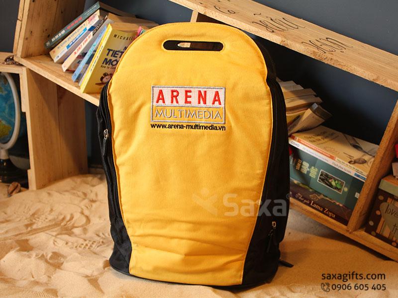 Balo quà tặng đựng laptop – Thêu logo Arena