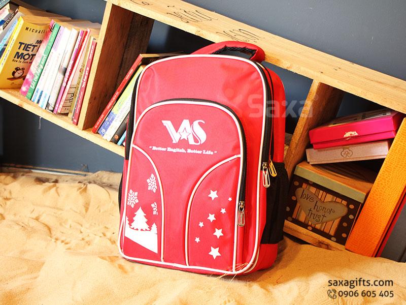 Balo quà tặng cho học sinh – In logo VAS