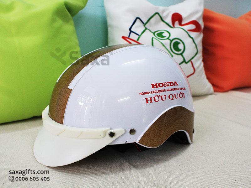 Mũ bảo hiểm quảng cáo – In logo Honda