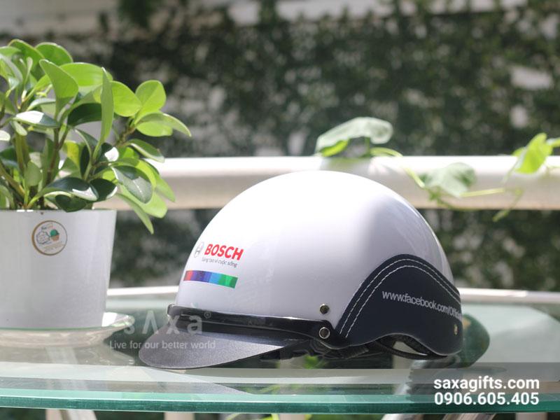 Nón Bảo Hiểm Phối Da Bosch