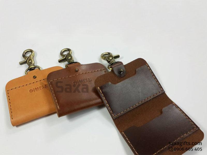 Da thật là gì? Một số mẫu quà tặng da và ví da in logo đẹp và sang