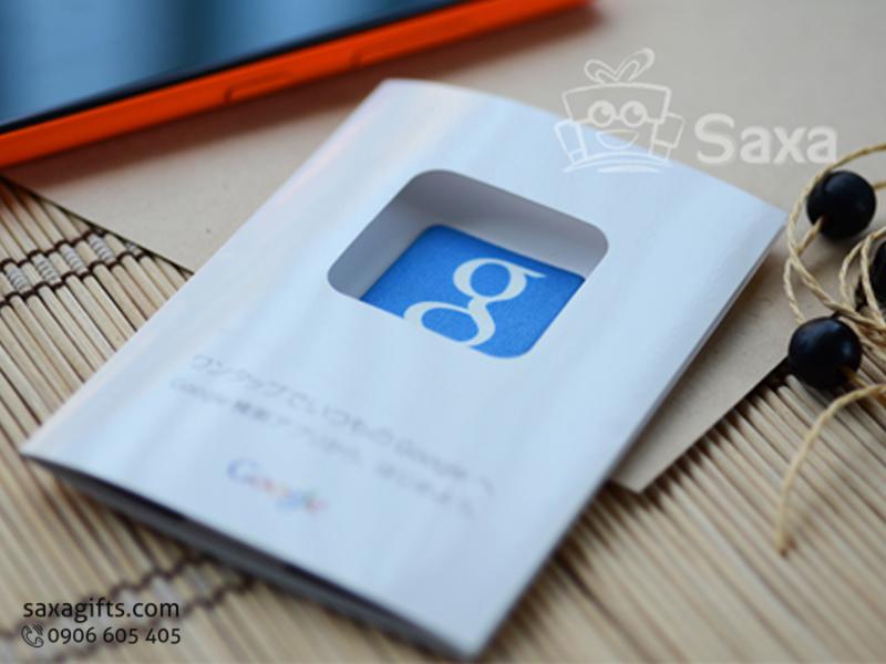 Miếng lau màn hìnhtích hợp QR code in logo Google