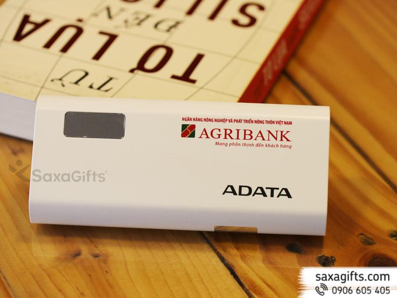 Pin sạc Adata 12.500mAh, có màn hình led hiển thị - Chính hãng