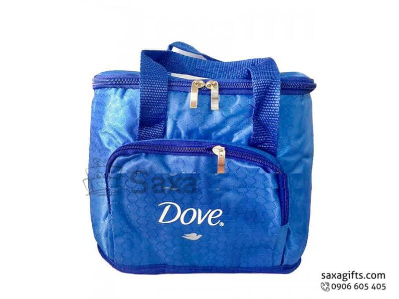 Túi vải dù in logo 2 ngăn có quai xách tiện dụng