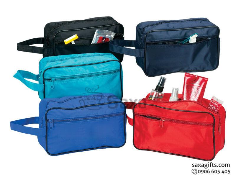 Túi vải dù in logo du lịch nhiều ngăn có quai xách