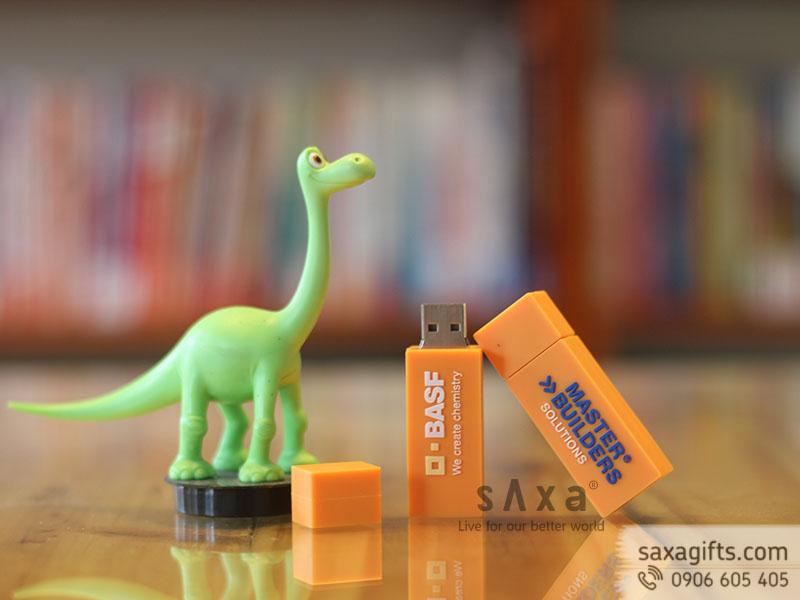 USB cao su đổ khuôn hình khối chữ nhật của công ty BASF